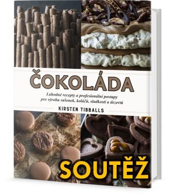SOUTĚŽ o kuchařku ČOKOLÁDA