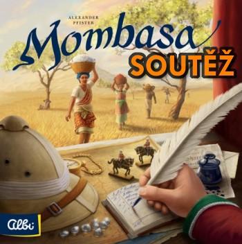 Strategická desková hra MOMBASA