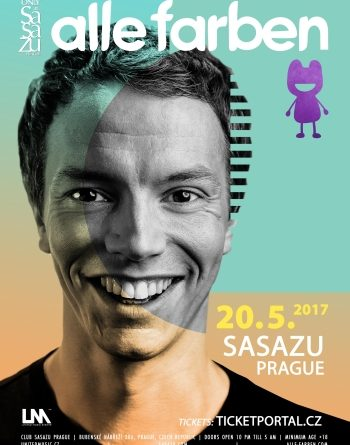 Alle Farben vystoupí v květnu v Praze