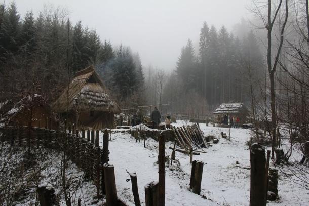 Pravěká osada Křivolík u České Třebové