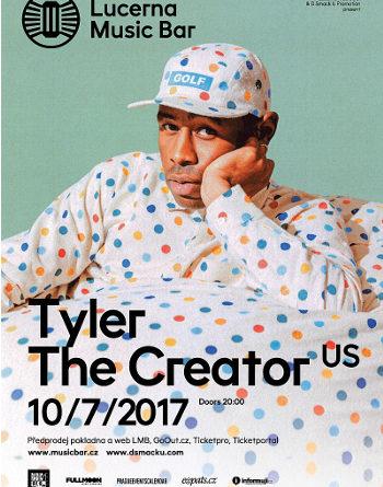 Rapper Tyler, the Creator se vrací do Prahy udělat show