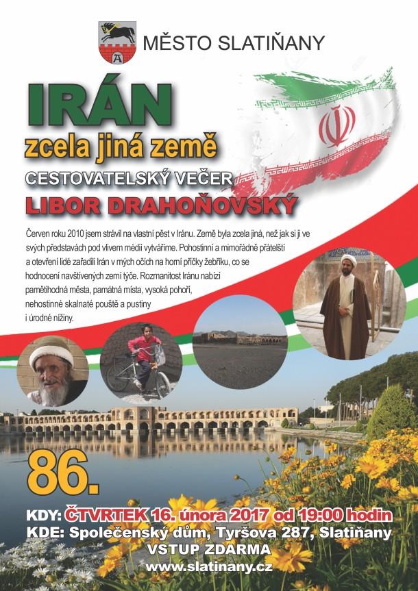 86. cestovatelský večer: Irán