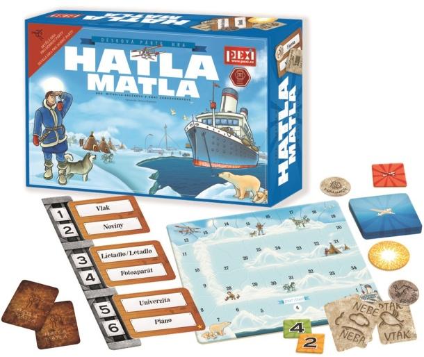 SOUTĚŽ o party hru HATLA MATLA