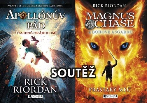 SOUTĚŽ o dvě knižní fantasy novinky od Ricka RIORDANA
