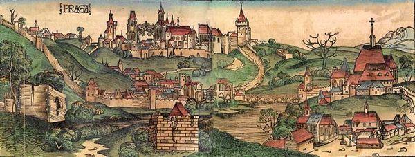 Vznik Královského hlavního města Prahy