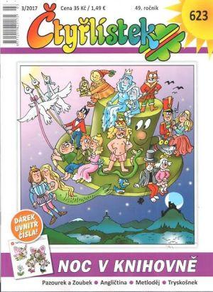 Speciální číslo Čtyřlístku na podporu dětského čtenářství