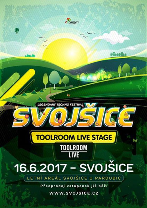 Na festivalu Svojšice bude světová Toolroom Live stage