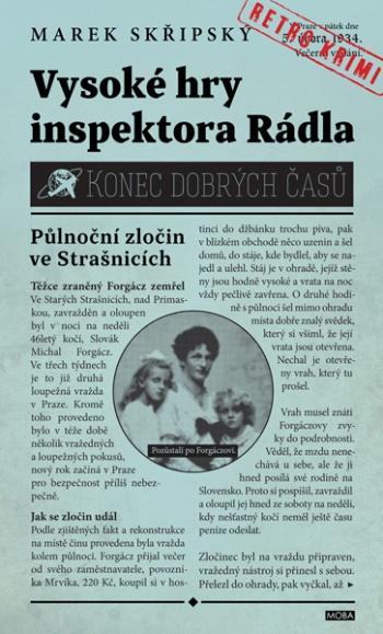 Marek Skřipský - Vysoké hry inspektora Rádla