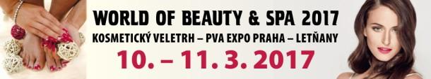 Jarní kosmetický veletrh WORLD OF BEAUTY & SPA se blíží