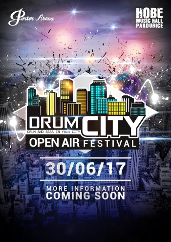 DRUMCITY - nový open air festival v Pardubicích