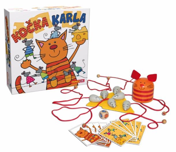 SOUTĚŽ o dětskou hru KOČKA KARLA