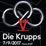Die Krupps otevřou podzimní sezónu v Lucerna Music Baru