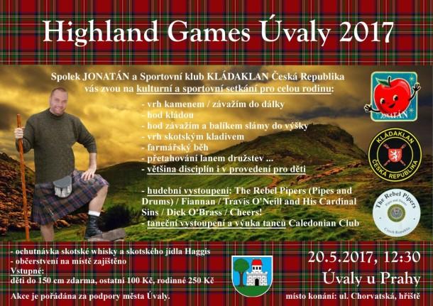 Highland Games Úvaly 2017