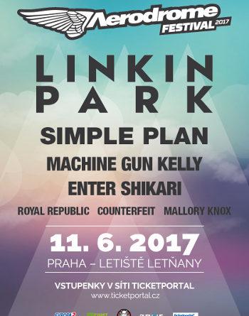 Na festival Aerodrome přijedou komě Linkin Park také Simple Plan