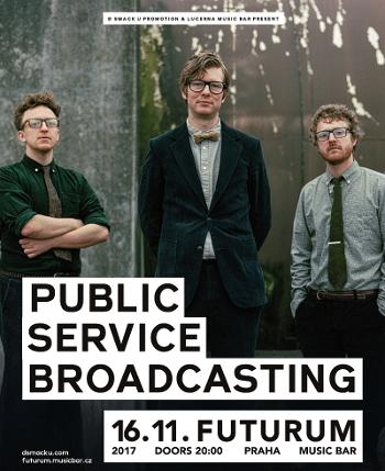 Public Service Broadcasting zahrají v Praze