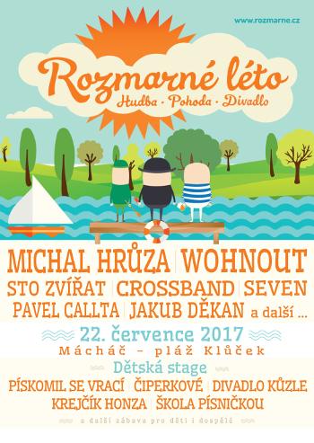 Festival Rozmarné léto cílí na rodiny s dětmi