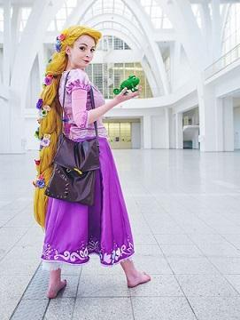 Rapunzel, vítězka Cosplay soutěže - foto by Filip Blažek