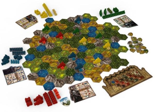 strategická hra BARONY