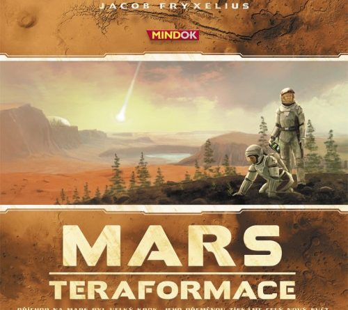 Soutěž o deskovou hru MARS: TERAFORMACE