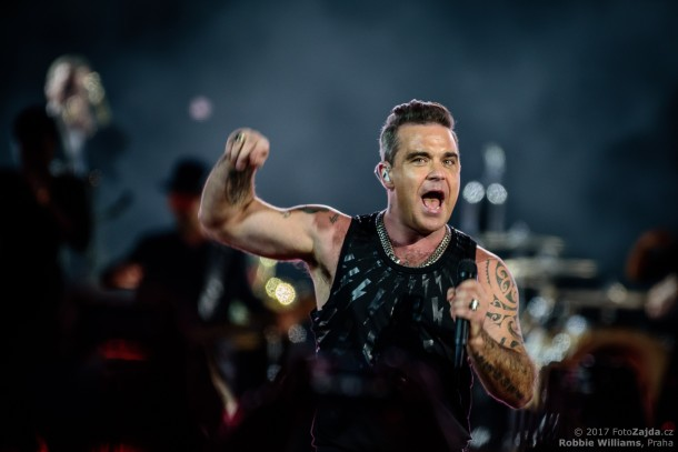 Robbie Williams, foto: FotoZajda.cz