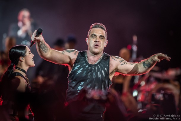 Robbie Williams, foto: FotoZajda.cz