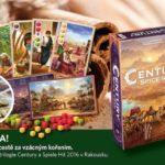 SOUTĚŽ o deskovou hru CENTURY: cesta koření