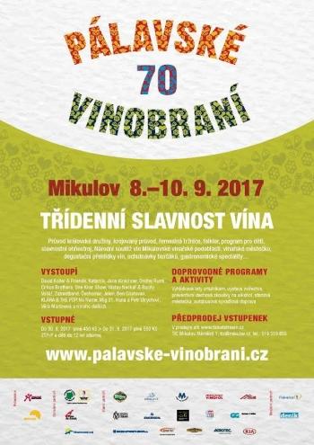 Pálavské vinobraní slaví 70. ročník řadou jubilejních novinek