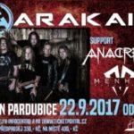 Arakain rozproudil krev fanouškům v pardubickém Ideonu