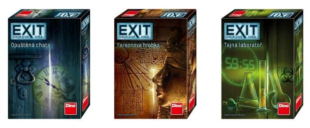 SOUTĚŽ o tři únikové hry EXIT