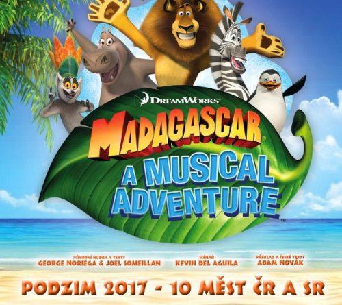muzikál MADAGASKAR