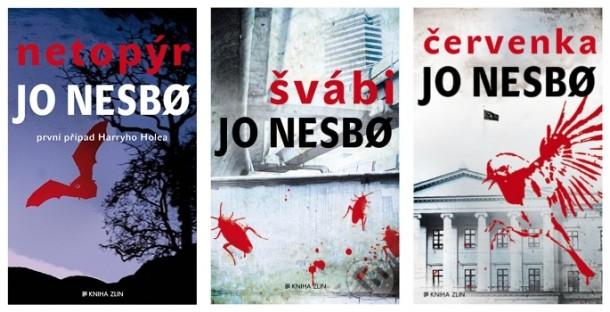 SOUTĚŽ o první tři knihy ze série o detektivu Harrym Holeovi