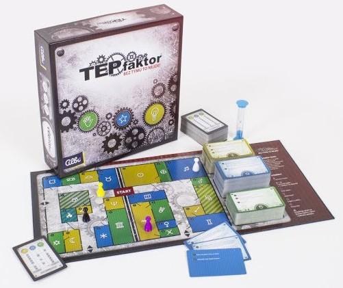 SOUTĚŽ o originální českou párty hru TEPfaktor