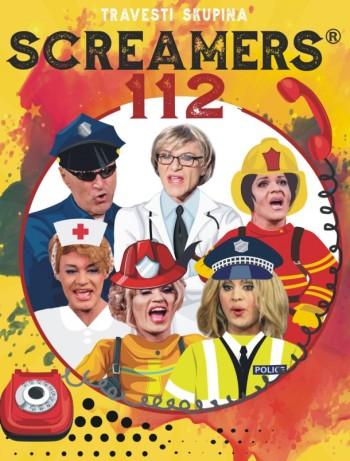 Travesti skupina SCREAMERS přijíždí s programem 112