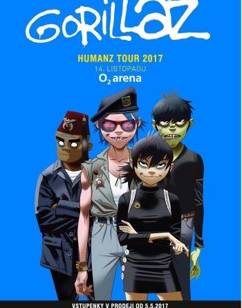 Gorillaz v Chicagu odstartovali Humanz Tour