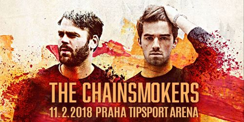 The Chainsmokers vystoupí v Praze