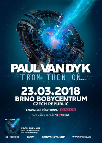 Paul Van Dyk se po třech letech vrátí do Brna
