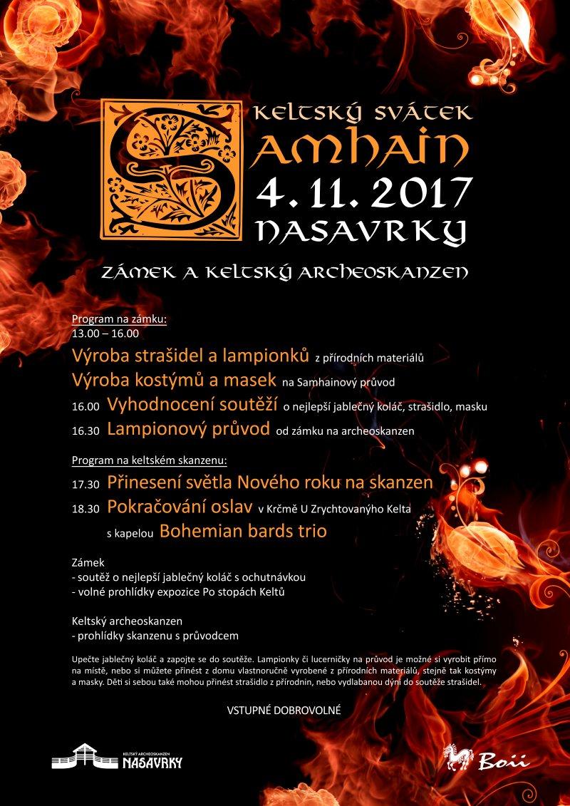 SAMHAIN - svátek keltů - Nasavrky