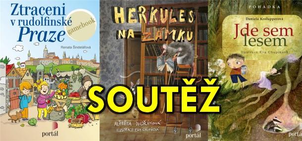 SOUTĚŽ o tři dětské knížky z Nakladatelství SLOVART