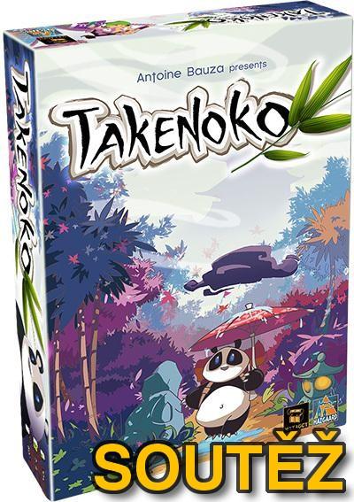 SOUTĚŽ o deskovou hru TAKENOKO a vstupenky na FESTIVAL HER A HRAČEK PRO MALÉ I VELKÉ v Pardubicích