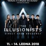 Nejlepší kouzelníci na světě The Illusionists se vrací do Prahy