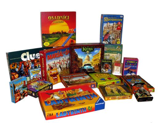 Herna deskových a karetních her vás zve na další herní odpoledne