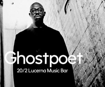 Ghostpoet si na únor naplánoval koncert v Lucerna Music Baru