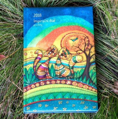 Inspirační diář pro ženy - Sluneční kočky