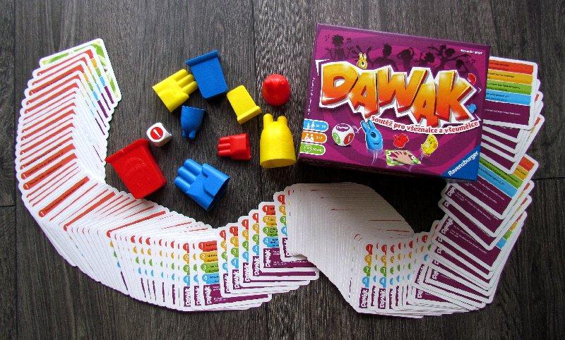 SOUTĚŽ o rodinnou hru DAWAK