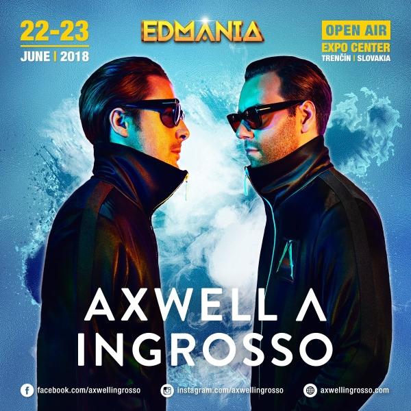 Axwell /\ Ingrosso míří na EDMANII