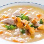 Lehká rybí polévka