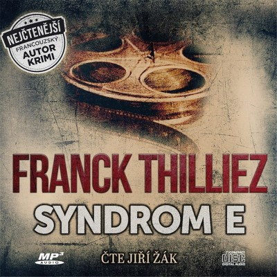 Audiokniha Syndrom E Franck Thilliez obal