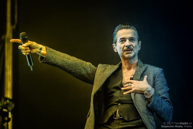 Depeche Mode, 2017 - Praha, foto: FotoZajda.cz