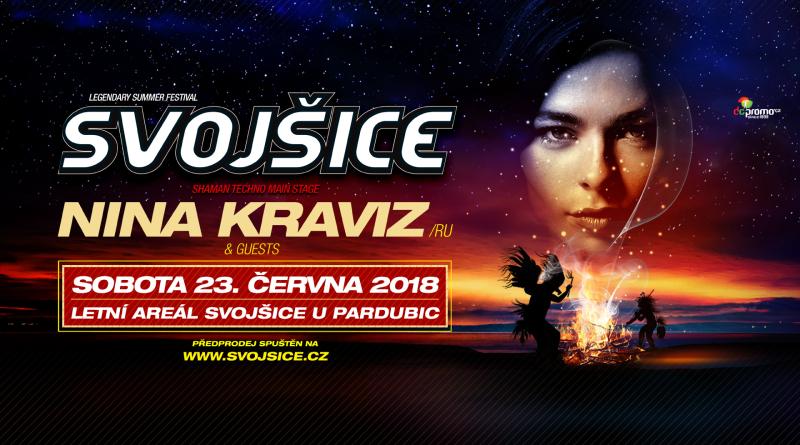 Festival Svojšice - Nina Kraviz cover (1)