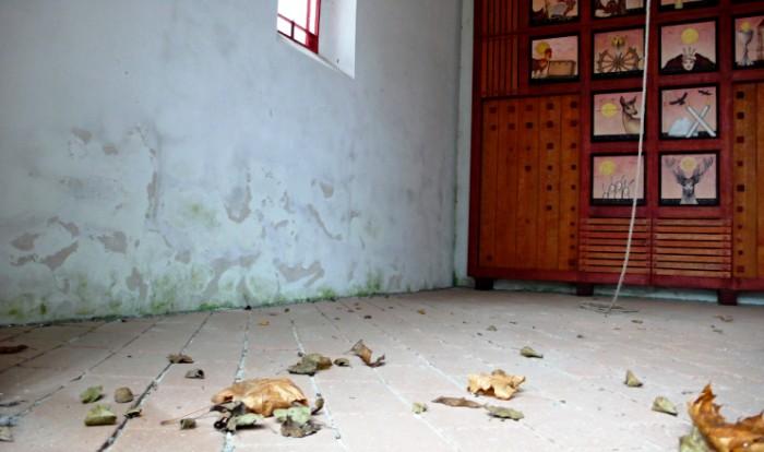 Červená kaplička v Chrudimi - interiér